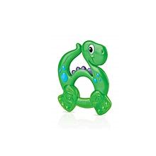 anneau de dentition rigide et souple: dinosaure - 0m+