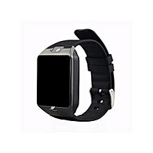 montre connectée dz09 - bluetooth smart - caméra - carte sim - alarme - noir