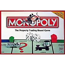 monopoly jeu de société - 2-8 joueurs - 8 ans et plus - blanc