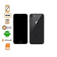 """iphone 8 - ecran 4.7"""" rom 64go - ram 2go - caméra 12 megapixels - noir"""