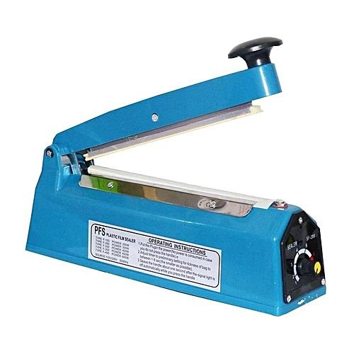Soudeuse Electrique pour sachets en Plastique 200 mm Bleu