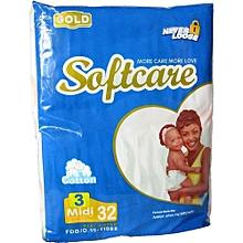 softcare - couches 32 pièces - 2ieme age