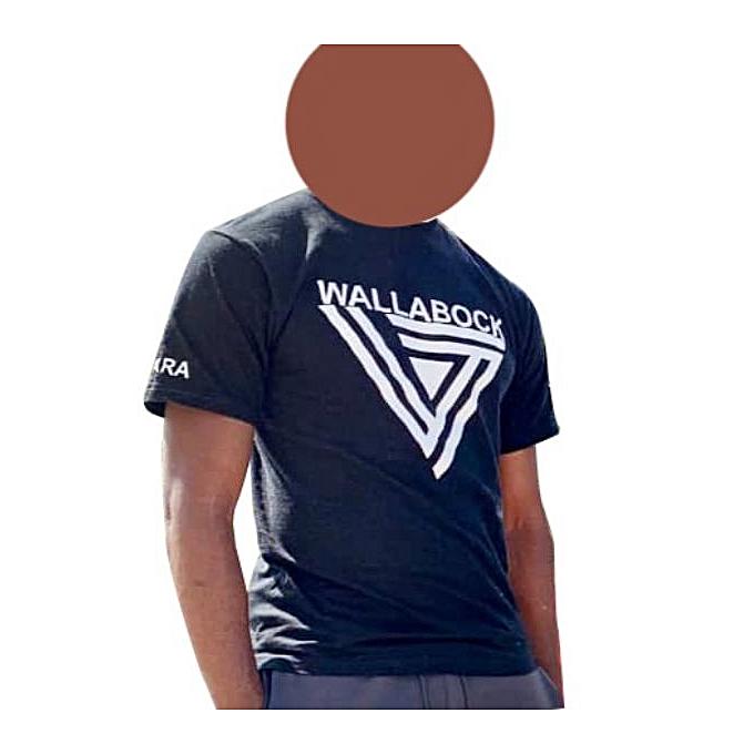 4ec4010a8f02a New Tendance Tee-Shirt Pour Homme - Coton - Noir et Blanc - Prix pas ...