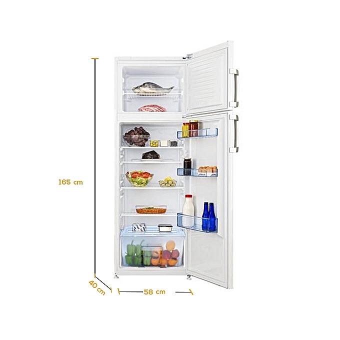 beko r frig rateur double porte ds136010 330l garantie 1 an blanc jumia s n gal. Black Bedroom Furniture Sets. Home Design Ideas