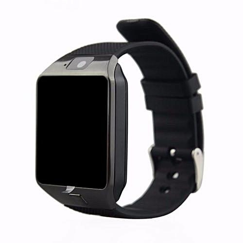 authentic montre connect e dz09 bluetooth smart cam ra. Black Bedroom Furniture Sets. Home Design Ideas