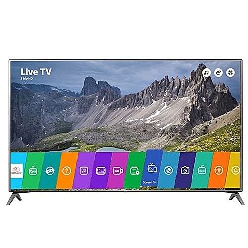 lg t l viseur led smart tv 55 pouces 55uj651v 4k ultra hd 3840x2160 pixels garantie 1 an. Black Bedroom Furniture Sets. Home Design Ideas