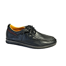 chaussures de ville story - 100% cuir - semelle en gomme - anti dérapant