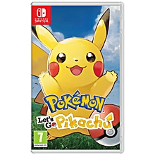 pokémon : let's go, pikachu nintendo switch
