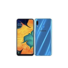 "galaxy a30 (2019) - 6.4"" - dual-sim - ram 4go - rom 64go - caméra 16mp+5mp - bleu"