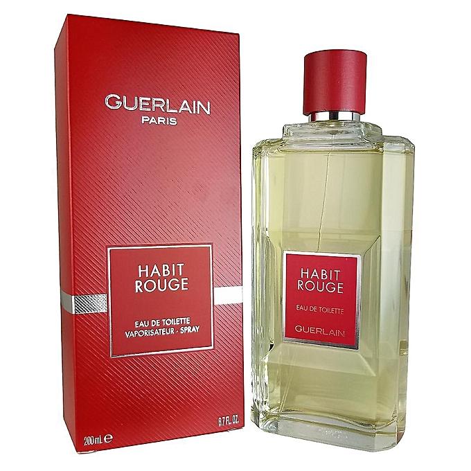Rouge Guerlain De Toilette Habit Eau 200ml thQxsBrdC