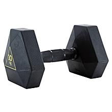 haltere hex dumbbell - 10kg