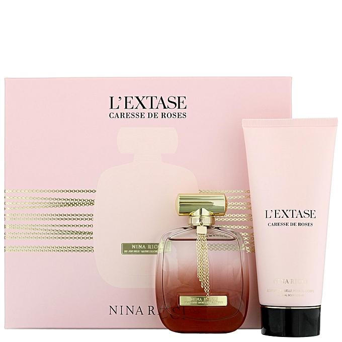 De Coffret Rose Caresse Parfum L'extase 7ygfb6