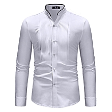 shirt tops homme men tee shirt - white