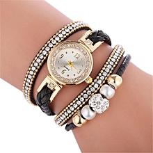 montre bracelet fétiche - noir
