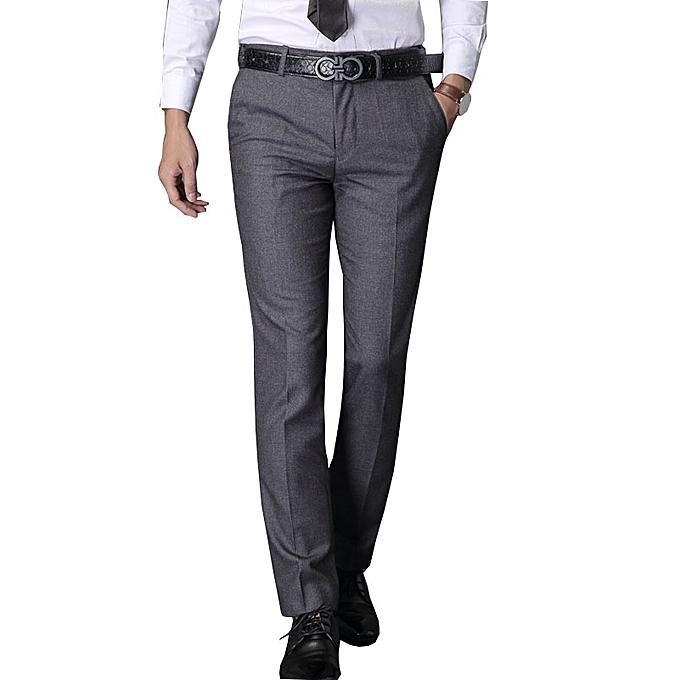 white label pantalons super cent homme coupe droite gris prix pas cher jumia sn. Black Bedroom Furniture Sets. Home Design Ideas