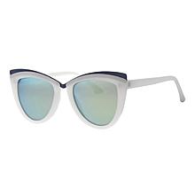 35e17c6cf6 Lunettes de soleil blanches - oeil de chat - Chloé eyewear - acétate