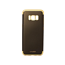 coque - fashion ultra slim noire - dorée / samsung galaxy s8