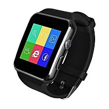 smart watch x6 - noir