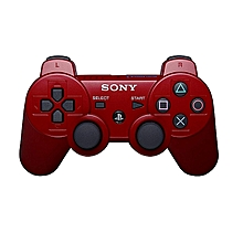 manette ps3 dualshock 3 sans fil - rouge