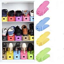 porte-chaussures - 4 pièces pour 4 paires de chaussures - multicolore