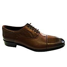 new arrival 29ca6 e5516 Chaussures Pour Homme Richelieu - Cuir - Marron