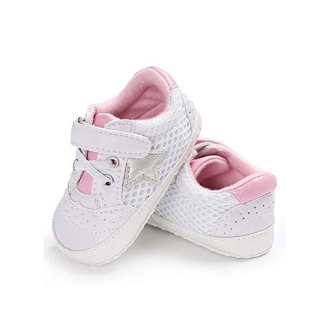 Chaussures Blanc Rose Bébé Pour De Paire 0yON8nwvm