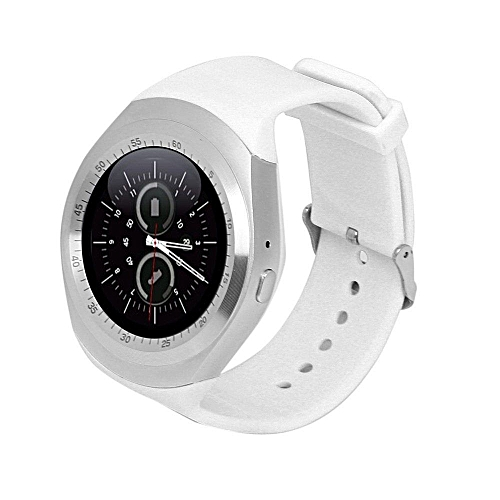 authentic montre connect e y1 1 sim rom 128 mo blanc jumia s n gal smartwatch. Black Bedroom Furniture Sets. Home Design Ideas