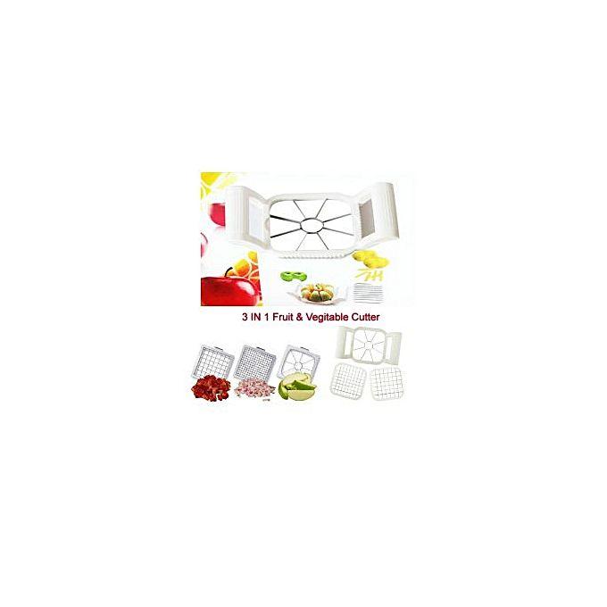 Multi chopper d coupe fruits et l gumes blanc jumia for Meuble a boisson