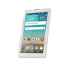 tablette 4g - dual sim - rom 16go - ram 1go - caméra 5 mégapixels - bleu