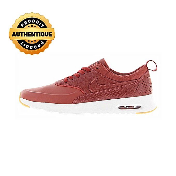 Air Max Thea Blanc Homme Femme Rouge Premium Unisex Cuir QrhdCtsx