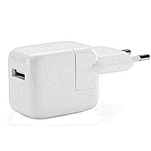 chargeur secteur/usb iphone ipod apple watch - 10 w - blanc