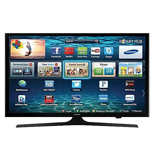 samsung t l viseur led 43 pouces smart tv ua43j5202 full hd 1920x1080 pixels noir prix. Black Bedroom Furniture Sets. Home Design Ideas