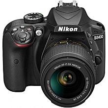 appareil photo numérique d3400  réflex 24.2 mpix kit objectif af-p dx 18-55 vr - noir