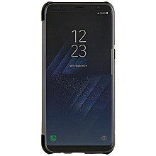 etui galaxy s8 ultra-fin screen touch - noir
