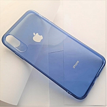 coque – etui pour iphone xs max - couleur bleu
