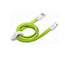 câble de données et de chargement micro usb pour tablettes, samsung s5 / s4 / s3 et autres téléphones intelligents (vert)