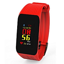 surveillance de la fréquence cardiaque en temps réel bluetooth sport rythme étape vie étanche santé bracelet k1 smart