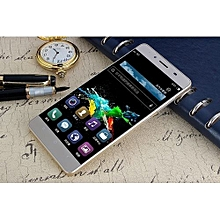 """m5 mini android phone high resolution screen mtk6572m 5.0"""" tn(854*480) lcd 4g mobile cell-gold"""