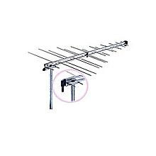 antenne tnt - 32 eléments - argent