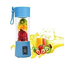 mini mixeur portable pour smoothies, jus - rechargeable avec usb lors de déplacements : voyage, sport -  380 ml, puissance 5v