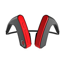 e1 - ecouteurs bluetooth - conduction osseuse - rouge