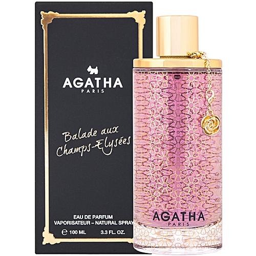 Agatha Balade Aux Elysees Parfum Champs Eau De 100ml Y76gfybv