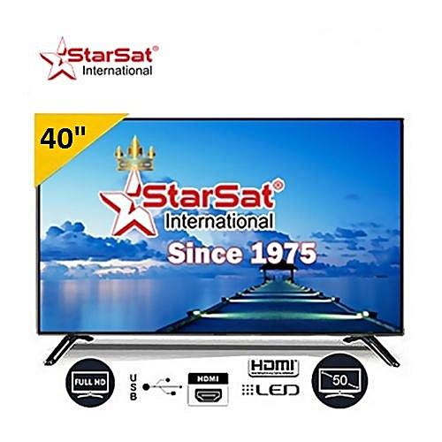 starsat tv led 40 pouces full hd 1920x1080 noir. Black Bedroom Furniture Sets. Home Design Ideas
