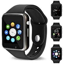 montre connectée - smartwatch a1 - noir