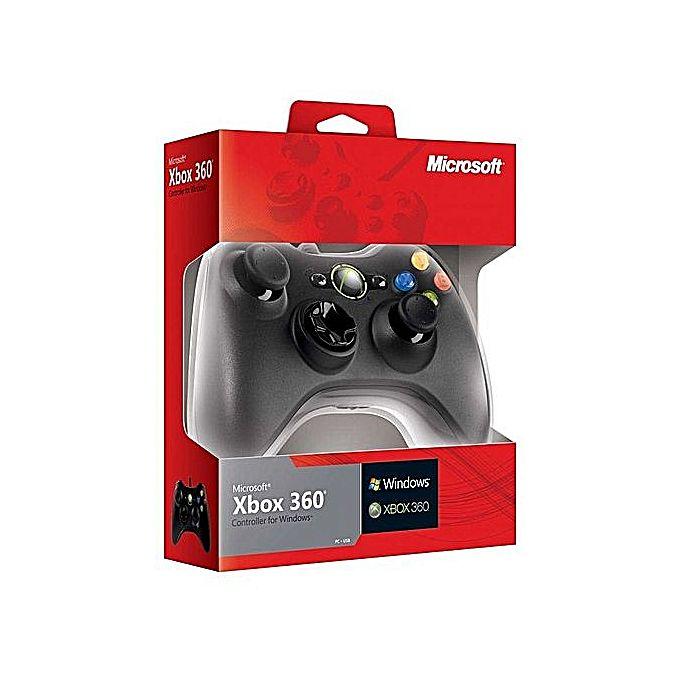 Manette playstation xbox 360 noir jumia s n gal for Achete maison cash