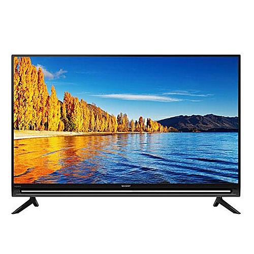sharp tv led 40 pouces full hd 1920x1080 pixels noir. Black Bedroom Furniture Sets. Home Design Ideas