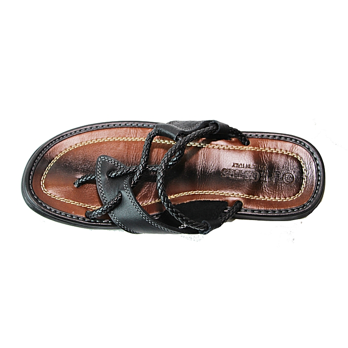 white label sandale pour homme high class original noir jumia s n gal sandales tongs. Black Bedroom Furniture Sets. Home Design Ideas