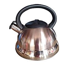 bouilloire à induction - forme de dôme - sifflante - 2 litres