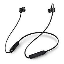 écouteurs bluetooth 4.1 magnétique ipx6 etanche - noir