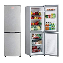 réfrigérateur combiné 3 tiroirs - 170 litres - fc170s - gris - garantie 1 an